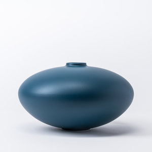 raawii Alev vaas 02 groot mallard blue