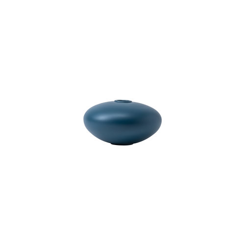 raawii Alev vase 02 small mallard blue