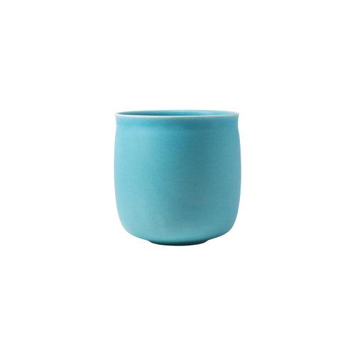 raawii Alev vase 01 azure blue