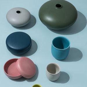 raawii Alev medium cup azure blue