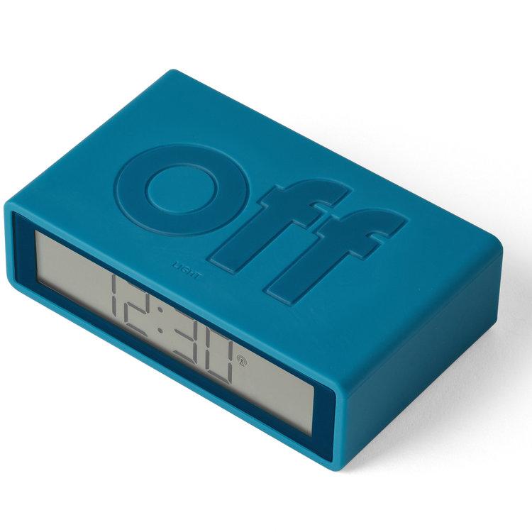 Lexon Lexon klok Flip+ blue