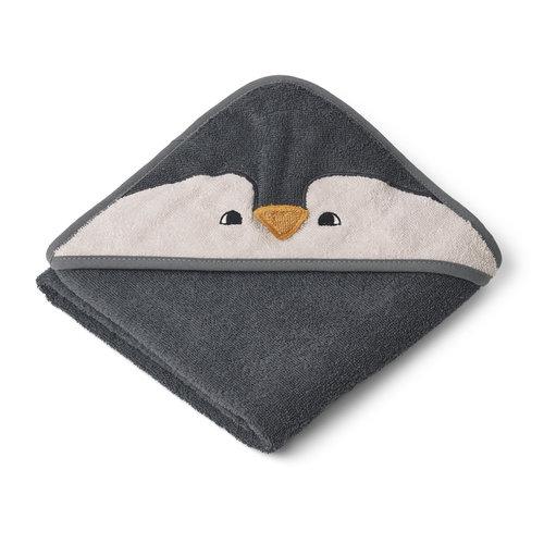 Liewood Augusta Towel Penguin grey