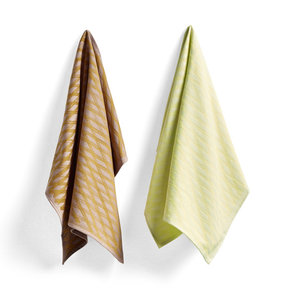 HAY Set of 2 tea towels S&B no1 Marker Diamond
