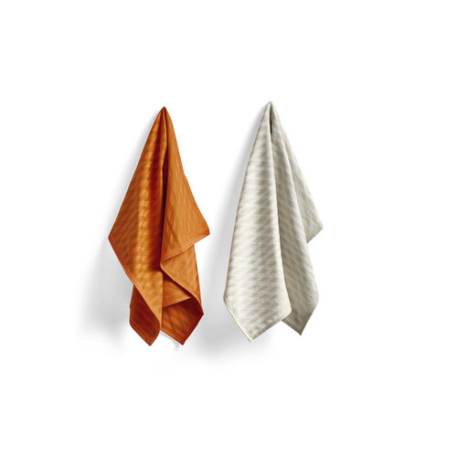 HAY Set of 2 tea towels S&B no2 Marker Diamond