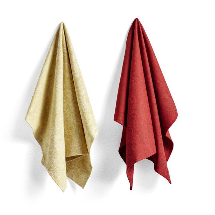 HAY HAY set of 2 tea towels S&B no5 Ballpoint Scribble