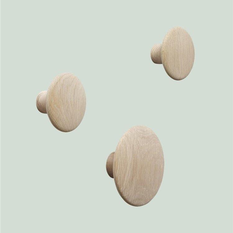 Muuto Muuto Dots 6,5cm | XS natural oak