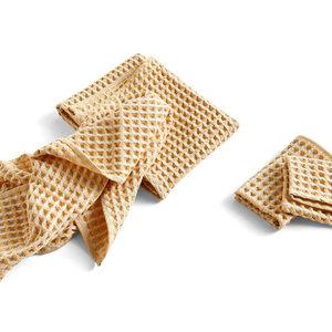 HAY Twist Cloth & Towel set of 4  yellow