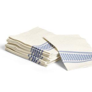 HAY Biologisch afbreekbare servetten blauw