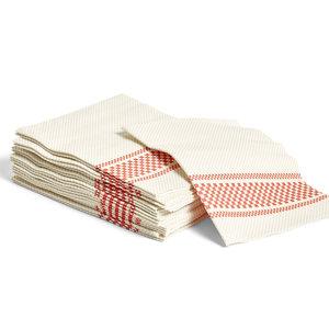 HAY Biologisch afbreekbare servetten rood