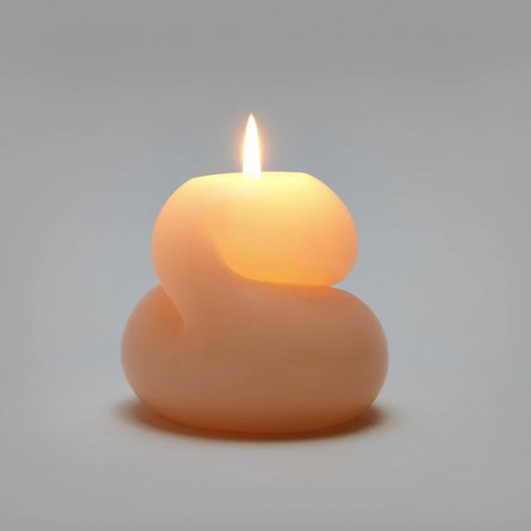 Areaware Areaware candle Goober EPH  pink