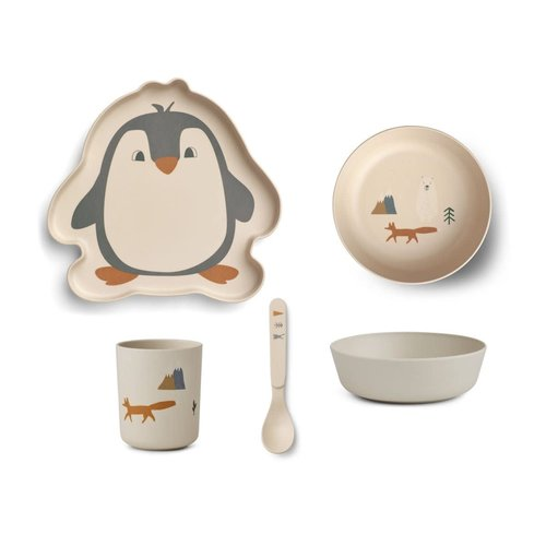 Liewood Set bamboo Arctic mix