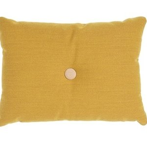 HAY Cushion Dot golden yellow