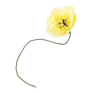 Studio About Papieren bloem Dahlia geel