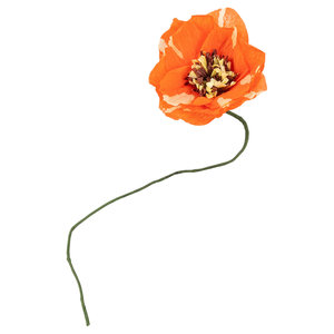 Studio About Papieren bloem Dahlia rood
