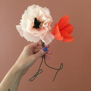 Studio About Paper flower Daisy purple