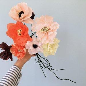 Studio About Paper flower Daisy bordeaux