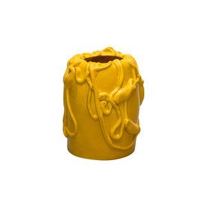 raawii Raawii vase Kvium yellow