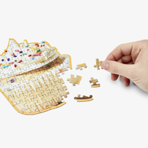 Areaware Areaware Little Puzzle Cupcake