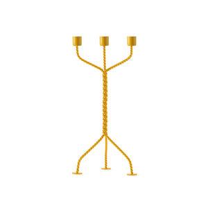 Werkwaardig Kandelaar Twisted yellow