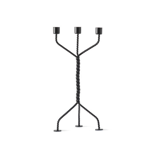 Werkwaardig Candle Holder Twisted black