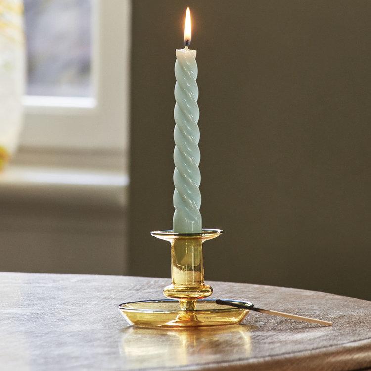 HAY HAY set 6 kaarsen Spiral lilac mint blue