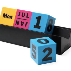 Areaware MoMa cube calendar