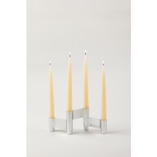 Studio About Candleholder Link polished aluminium