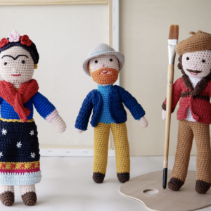 Global Affairs Crochet Frida Kahlo