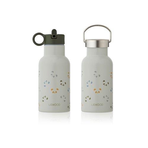 Liewood Water bottle panda blue mix