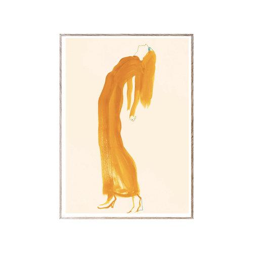 Paper Collective Print The Saffron Dress 30x40