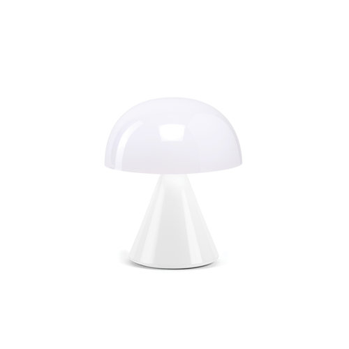 Lexon Mini lamp Mina glossy wit