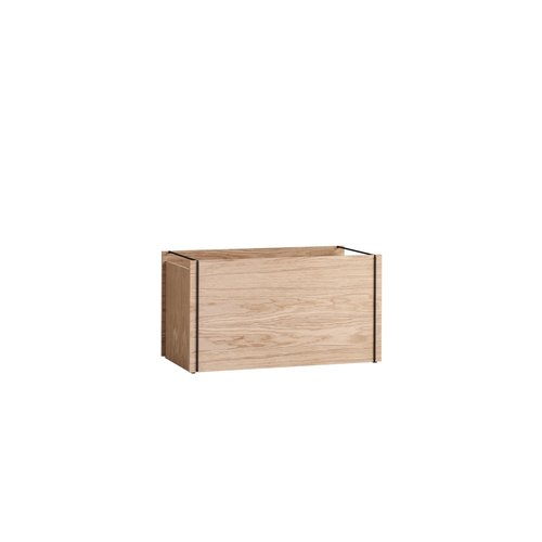 Moebe Moebe Storage Box oak black