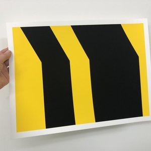 Groen+Akker Silkscreen yellow-black 30x40 cm