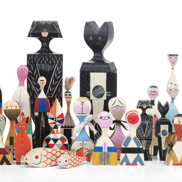 Vitra Vitra Wooden Doll no18