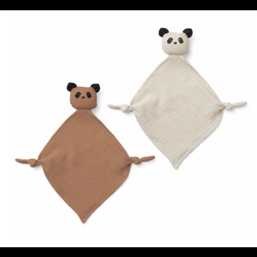 Liewood Mini knuffel Yoko Panda set van 2
