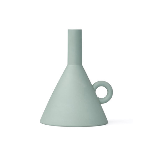 Rotganzen Candle Holder Funnel green