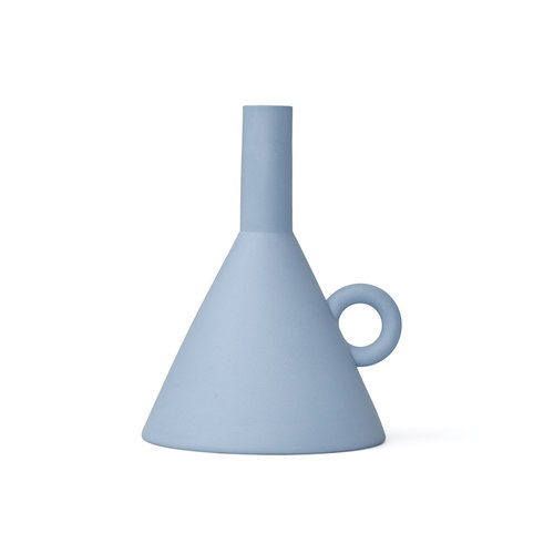 Rotganzen Kandelaar Funnel blauw