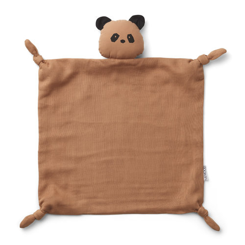 Liewood LW knuffel doek Agnete panda roze