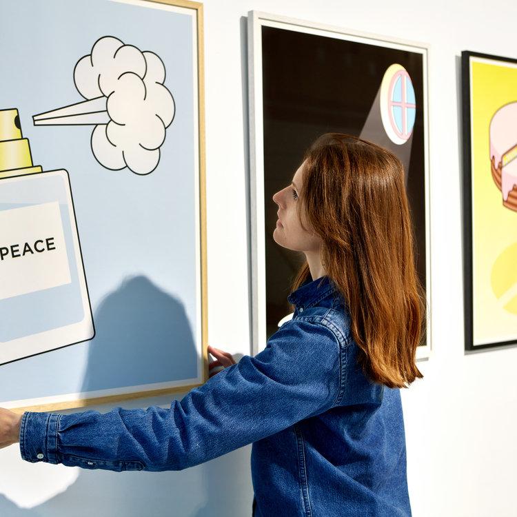 Groen+Akker Nynke Tynagel Art Print Peace of Cake