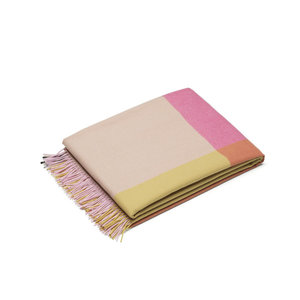 Vitra Blanket Colour Block pink beige