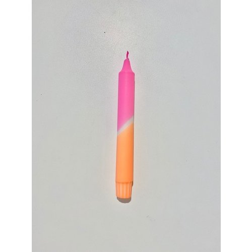 LOU candle  NO4 Pink/Orange