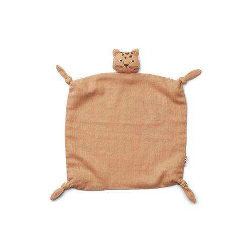 Liewood Cuddle cloth  Agnete Leopard apricot