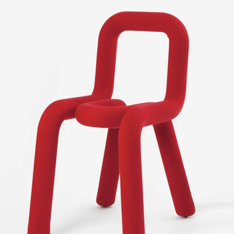 Moustache Moustache Bold Chair rood