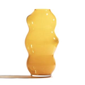 Fundamental Vase Muse L saffron