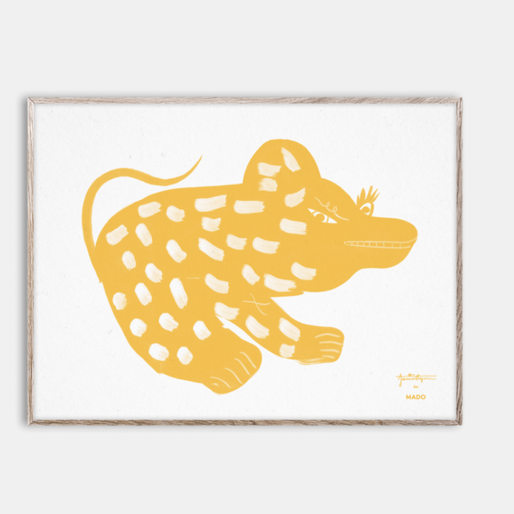 Paper Collective Paper Collective  print Lula Pan 40x30