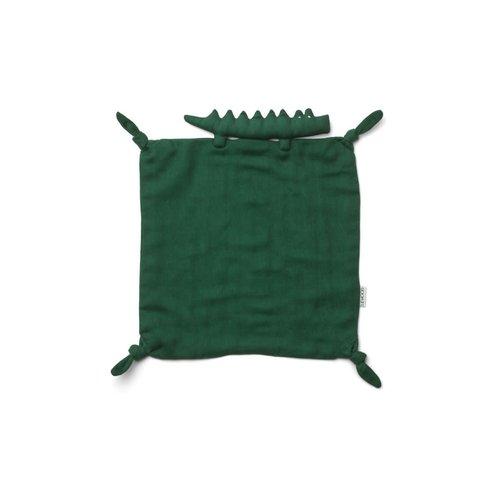 Liewood Cuddle cloth Agnete croco groen