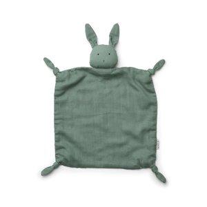 Liewood Cuddle cloth  Agnete rabbit peppermint