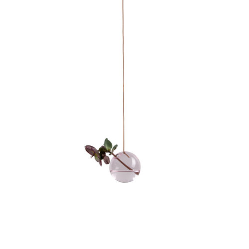 Studio About Vaas Flower Bubble hang klein roze
