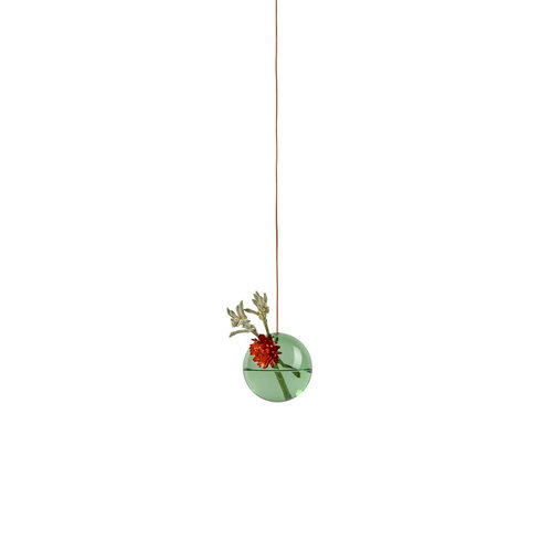 Studio About Vaas Flower Bubble hang klein groen