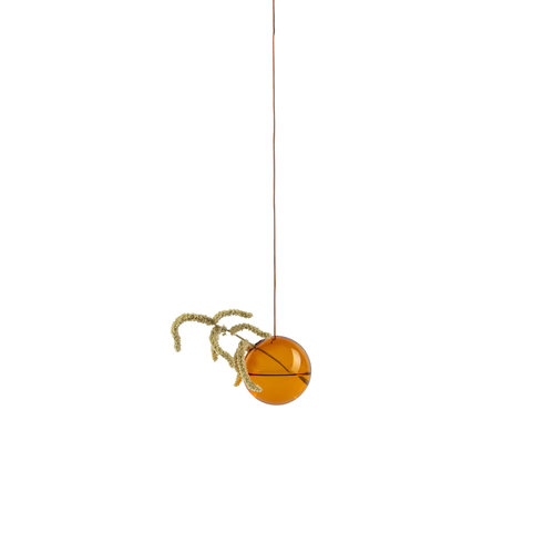 Studio About Vaas Flower Bubble hang klein amber